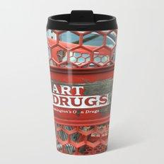 Art Drugs Metal Travel Mug
