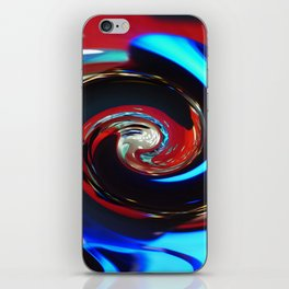 Swirling colors 04 iPhone Skin