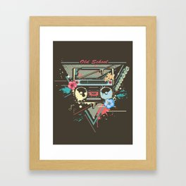 Ghetto Blaster Framed Art Print