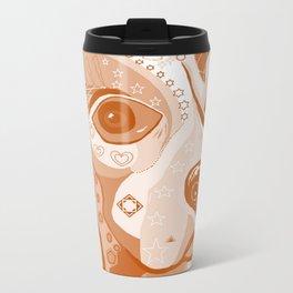 BEAGLE Brown Tones Travel Mug