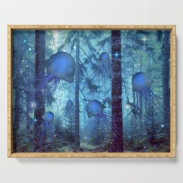 Magical Oceanic Forest Serving Tray