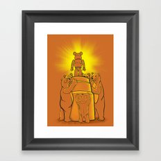 Lord of the Bears Framed Art Print