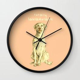 Labradorable Wall Clock
