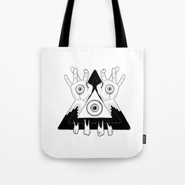 See me with them hands Tote Bag
