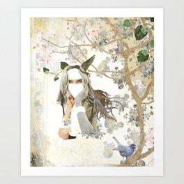 Melody of a Fallen Tree Art Print