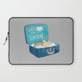 Always bring your own sunshine Laptop Sleeve