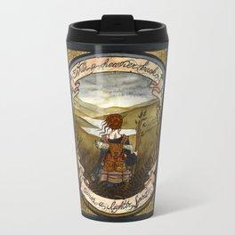 With a heavier back comes a lighter spirit Travel Mug