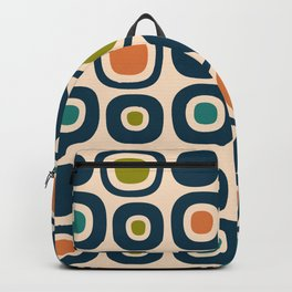 Mid Century Modern Garden Path Pattern 322 Backpack