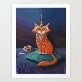 The Uni-Cat Art Print
