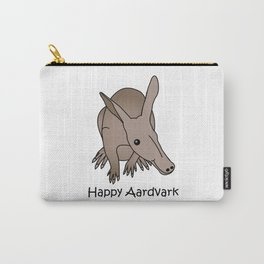 Happy Aardvark Carry-All Pouch