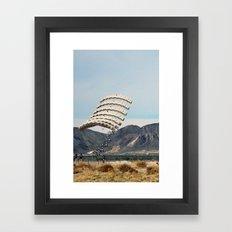 Skydive Framed Art Print
