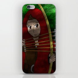 Legend of The Red Hood  iPhone Skin