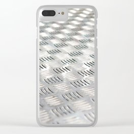 Floor metal surface Clear iPhone Case