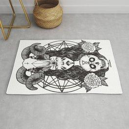 Satanic Princess Rug