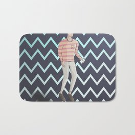 The Dapper Bath Mat