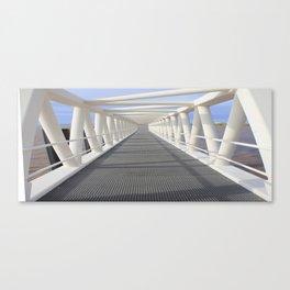 Jetty bridge Canvas Print