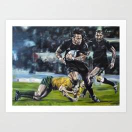 All Blacks Art Print