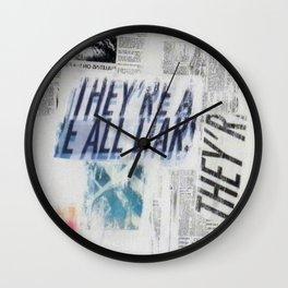 LIARS Wall Clock