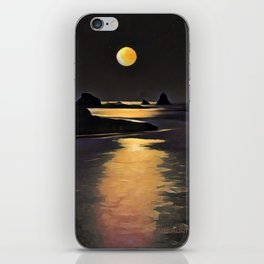 Blood Moon Reflection iPhone Skin