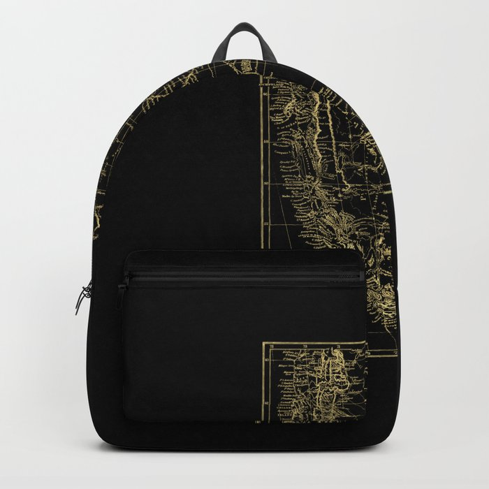 Patagonia - Black and Gold Backpack