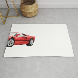 Ferrari 288 GTO Rug