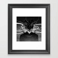 Drawlloween 2016: Demon Framed Art Print