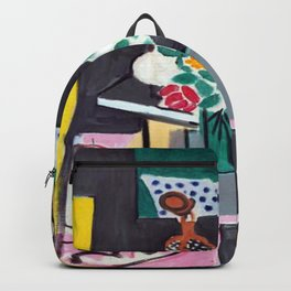 Henri Matisse Still Life with Gourds Backpack