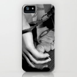 Handcuffed iPhone Case