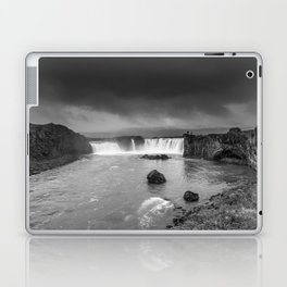 Storm at Goðafoss Laptop & iPad Skin