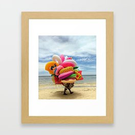 You can never have enough! Framed Art Print
