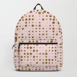 Gold Pink Stars Shine like the STARS Backpack