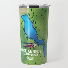 Lake Annecy,Haute-Savoie France Travel Mug