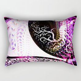 Opposition - Purple - ILL Design - Roth Gagliano Rectangular Pillow