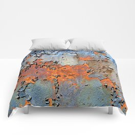 Rusted and Peeling 3 Comforters