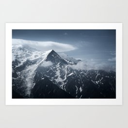 Mont Blanc collection - Flying Art Print