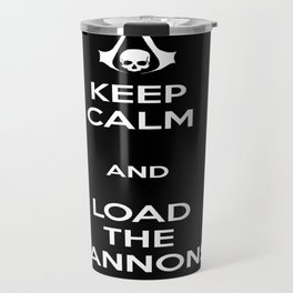 Load the Cannons Travel Mug