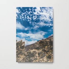 Iztaccihutal Volcano, Mexico City Metal Print