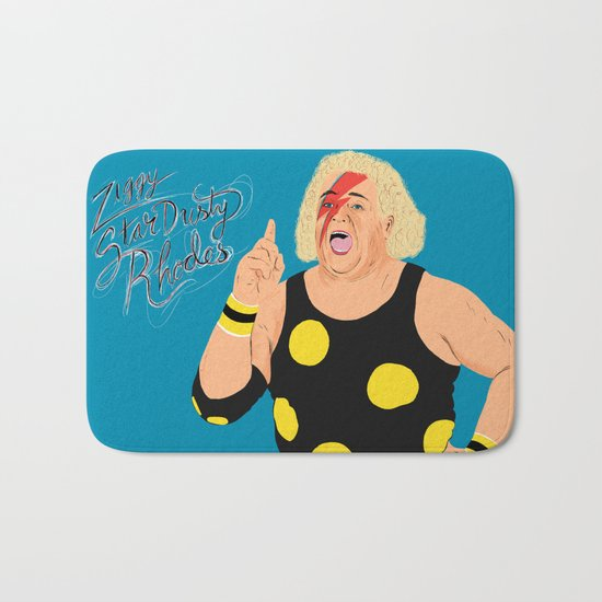 Ziggy StarDusty Rhodes Bath Mat