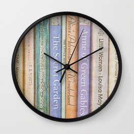 Storybook Wall Clock