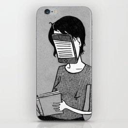 Modern Reader iPhone Skin