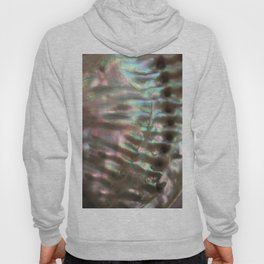 Shimmery Greenish Pink Abalone Mother of Pearl Hoody