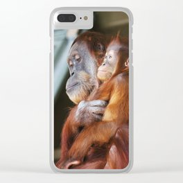 Sirih and Mila Clear iPhone Case