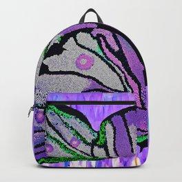 BUTTERFLY MOSAIC PURPLE DREAM Backpack