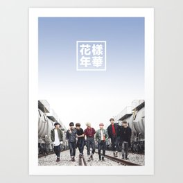 BTS + I need u Art Print