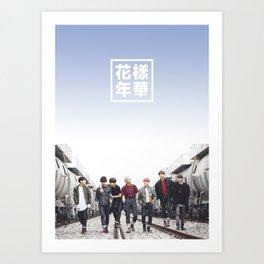 BTS + I need u Art Print