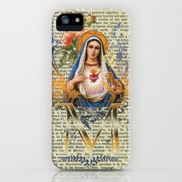 Immaculate Heart of Mary iPhone Case