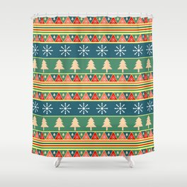 Christmas Decorations Shower Curtains