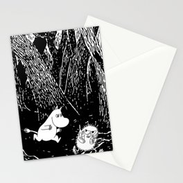 Moomins run for Stinky Stationery Cards