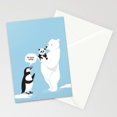 How little Pandas are born Stationery Cards