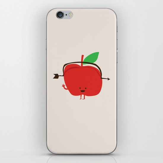 The Apple and The Arrow iPhone & iPod Skin